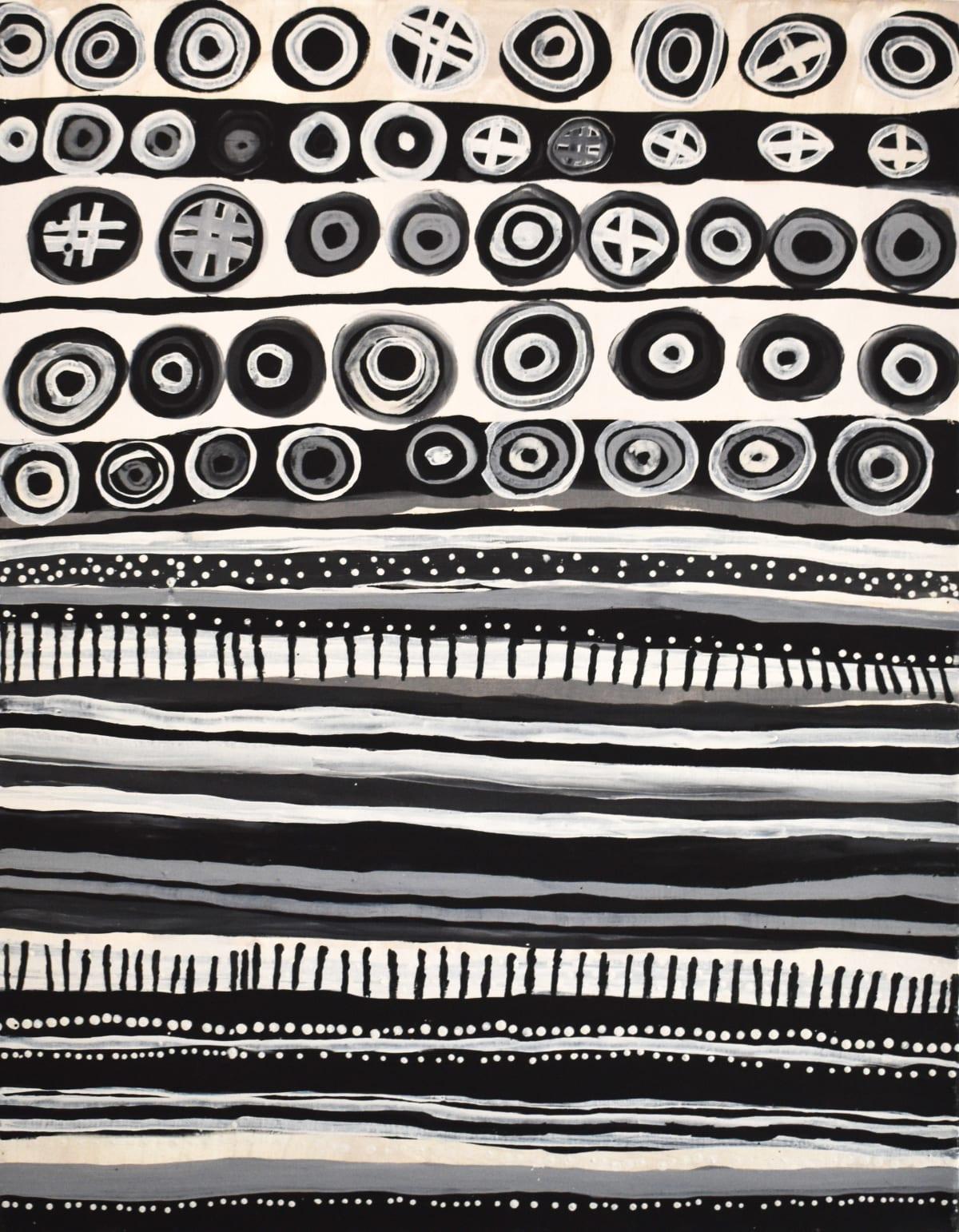 Timothy Cook Kulama amintiya pakitiringa natural ochres on linen 120 x 90 cm