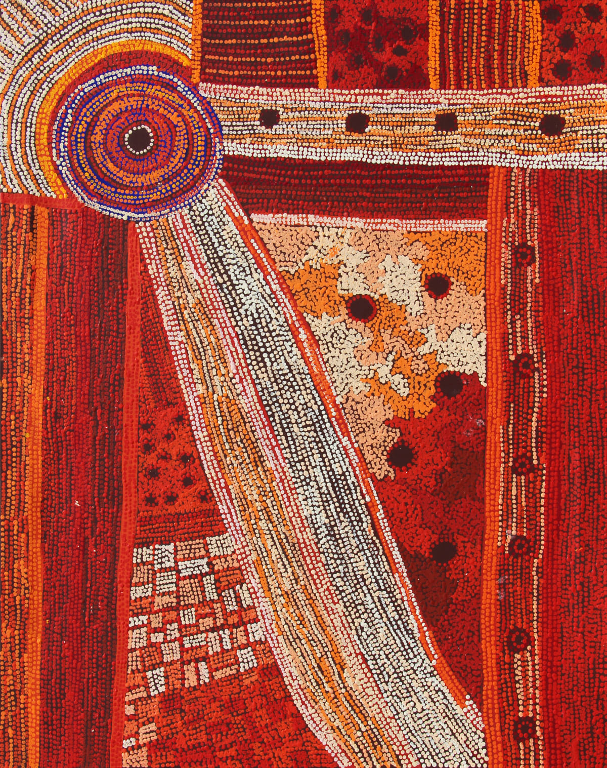Raylene Walatinna Ngayuku Ngura (My Country), 2019 Acrylic on Linen 122 x 152cm