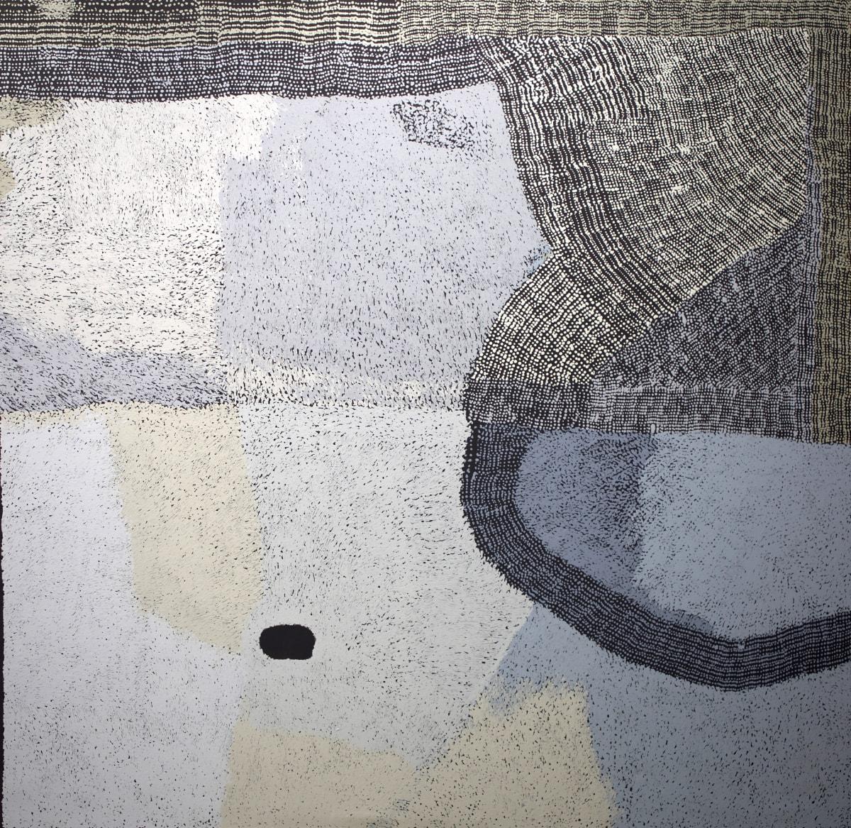 Pepai Jangala Carroll Ininti, 2018 acrylic on linen 199 x 204 cm