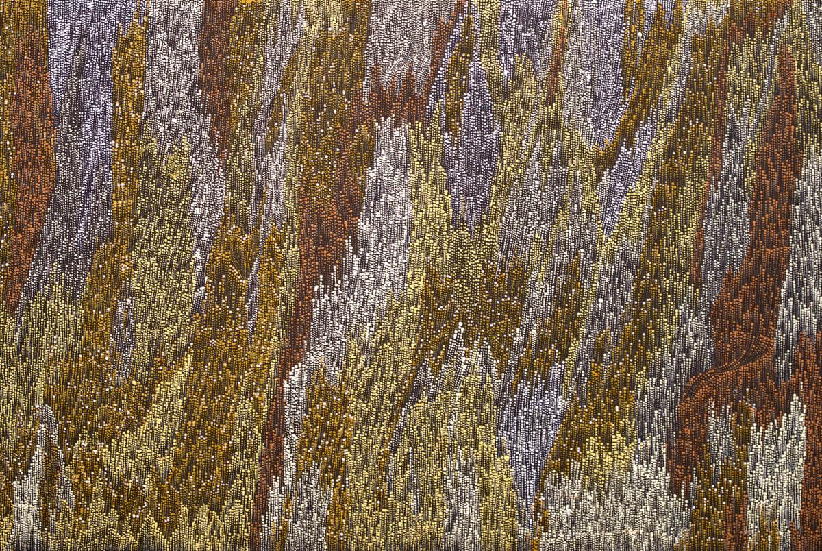 Lynette Lewis Womikata Walka Tali / Sand Dune, 2018 acrylic on canvas 60 x 90 cm