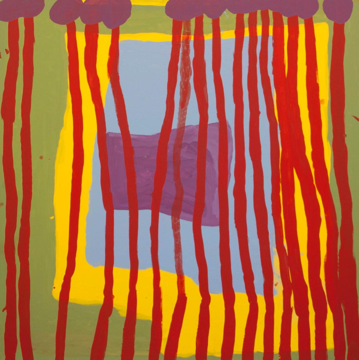 Lisa Uhl Kurrkapi acrylic on canvas 120 x 120 cm