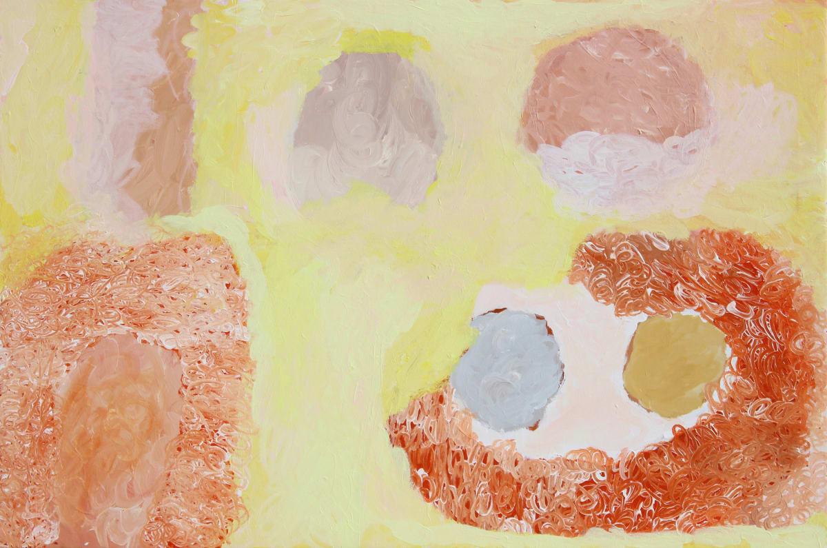 Mary Brumby Ngura (Country) acrylic on canvas 112 x 167 cm