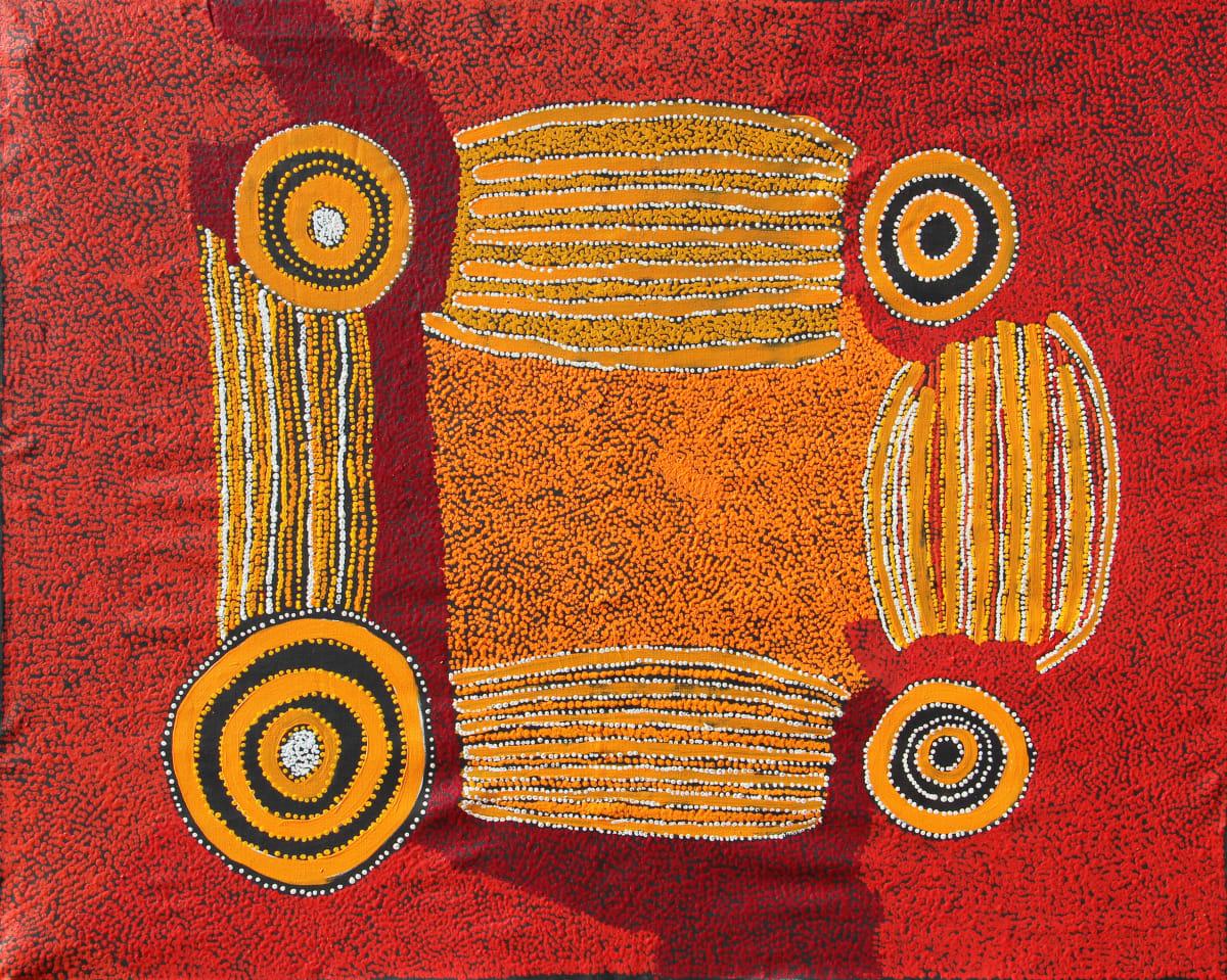 Sallyanne Roberts Kura Ala, 2019 Acrylic on Linen 122 x 152cm