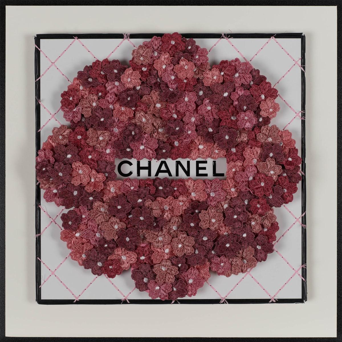 Stephen Wilson, Chanel Flower Flower, Wine, 2019
