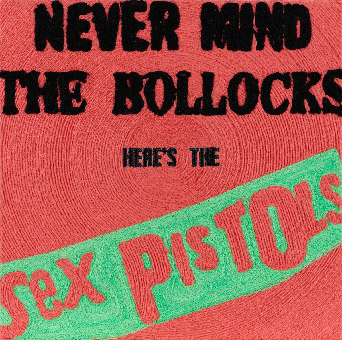 Stephen Wilson, Never Mind the Bollocks, Here's the Sex Pistols, 2019