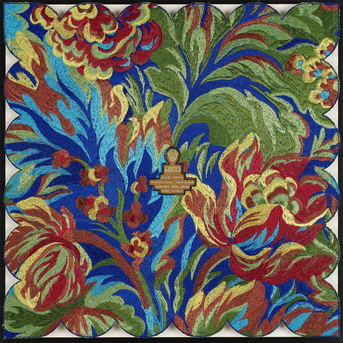 Stephen Wilson, Vintage Gucci Tapestry, 2019