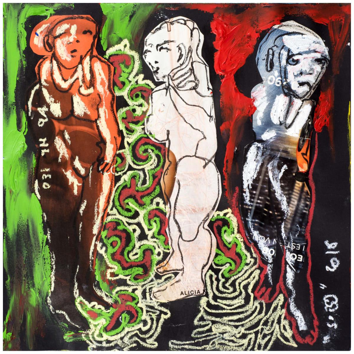 Soly Cissé, Untitled 18 (Black Book Project 1), 2016