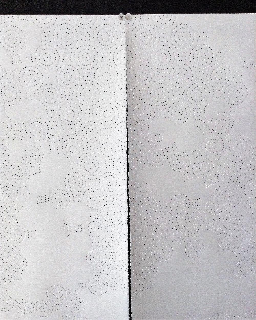 Lucrecia Troncoso, Paper towel sky, 2018