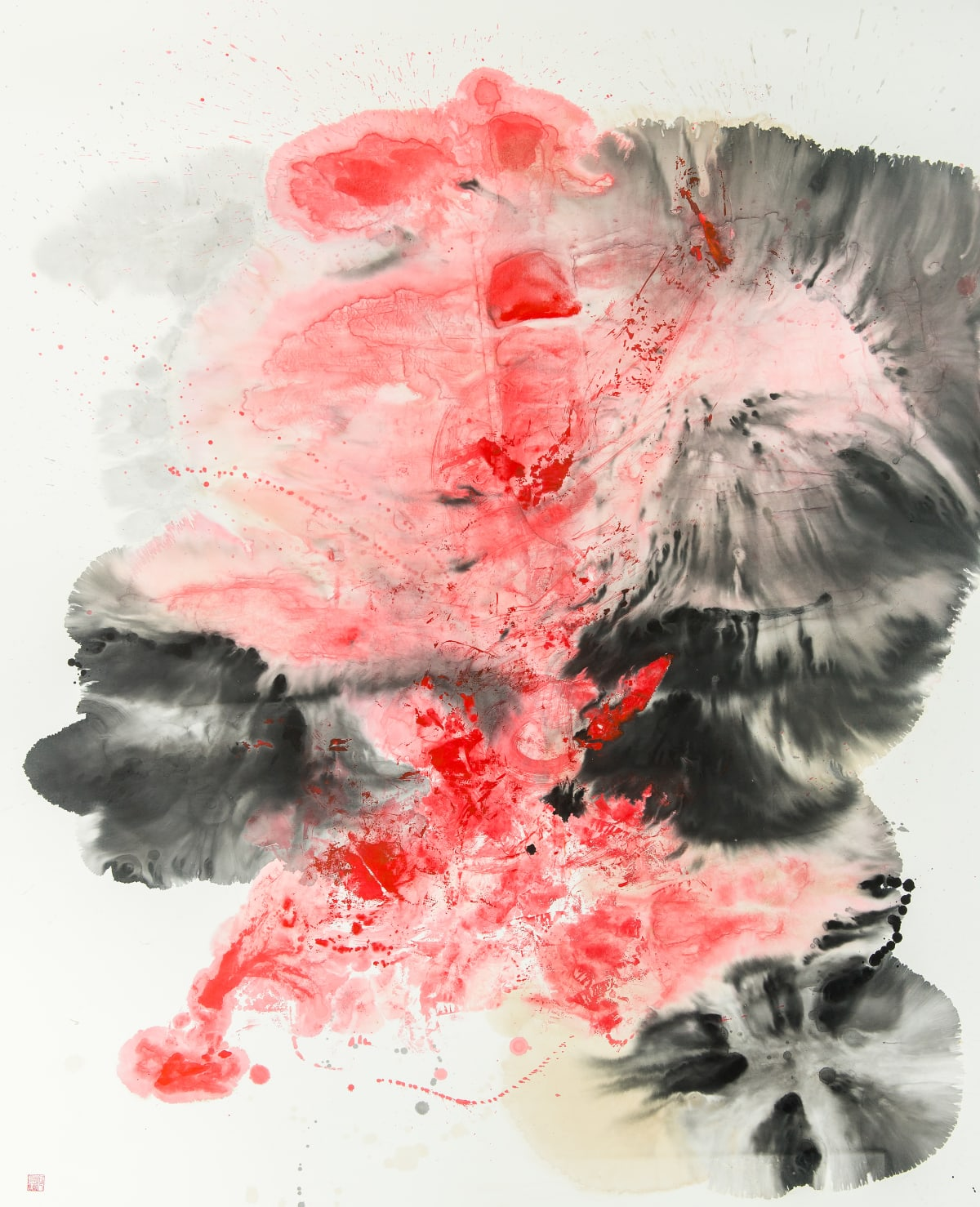 Chloe Ho 何鳳蓮, Ink Eruption, 2017