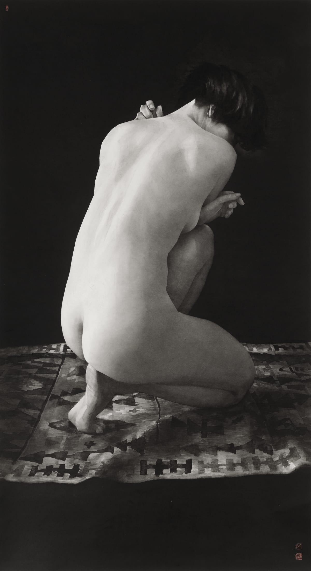 Qu Leilei 曲磊磊, Squatting Figure, 2018