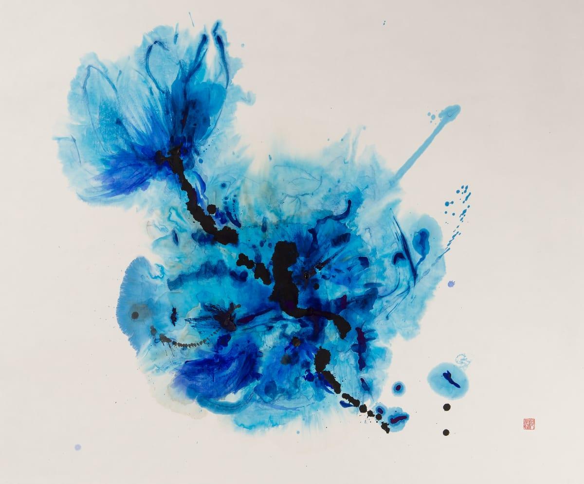 Chloe Ho 何鳳蓮, Blue Flora, 2017