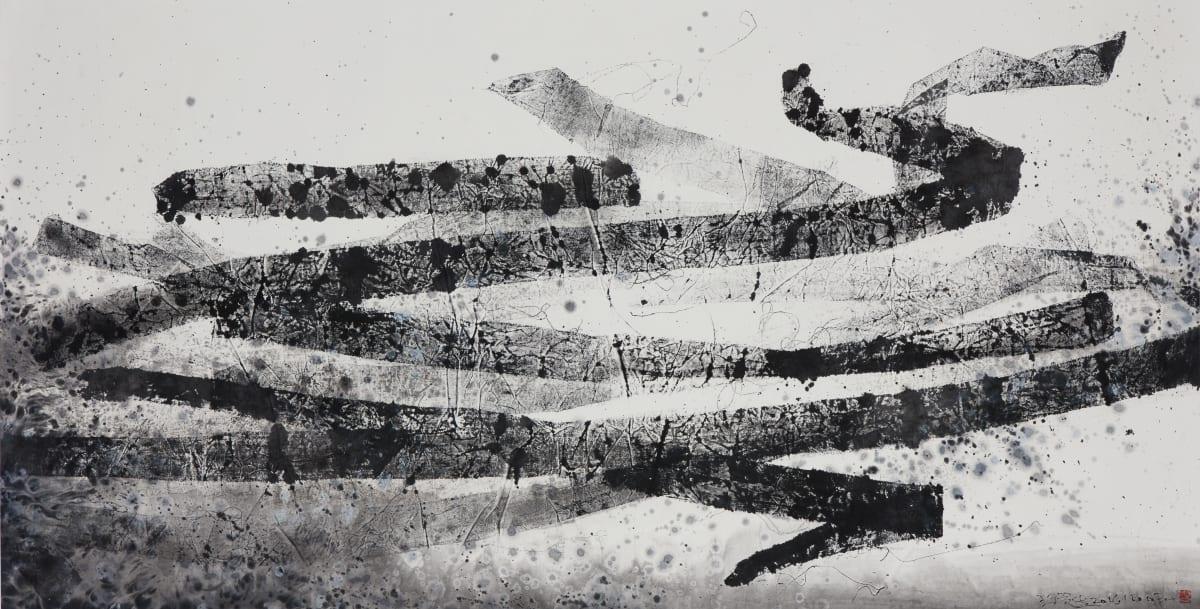 Wang Huangsheng 王璜生, Tracing Vision 161003 痕象 161003, 2016