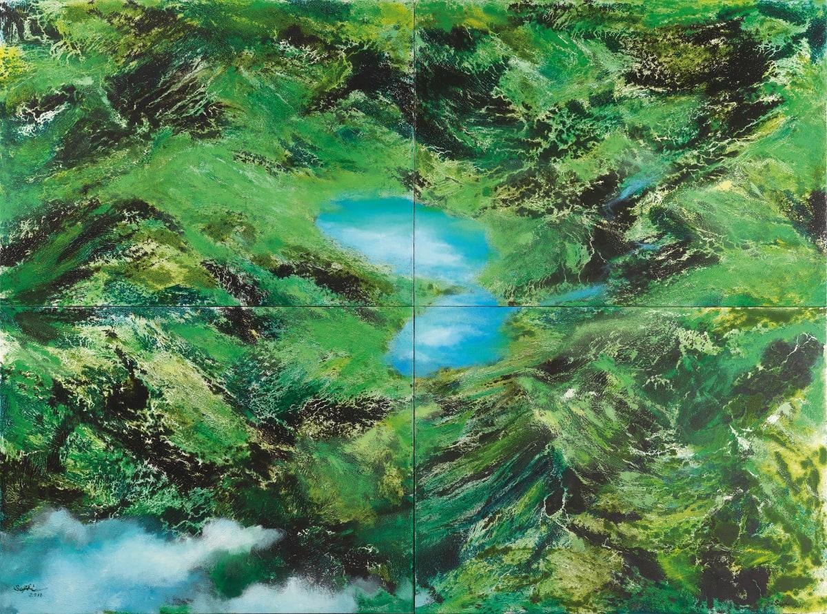 Sophie Chang 張淑芬, Green Seedling, 2018
