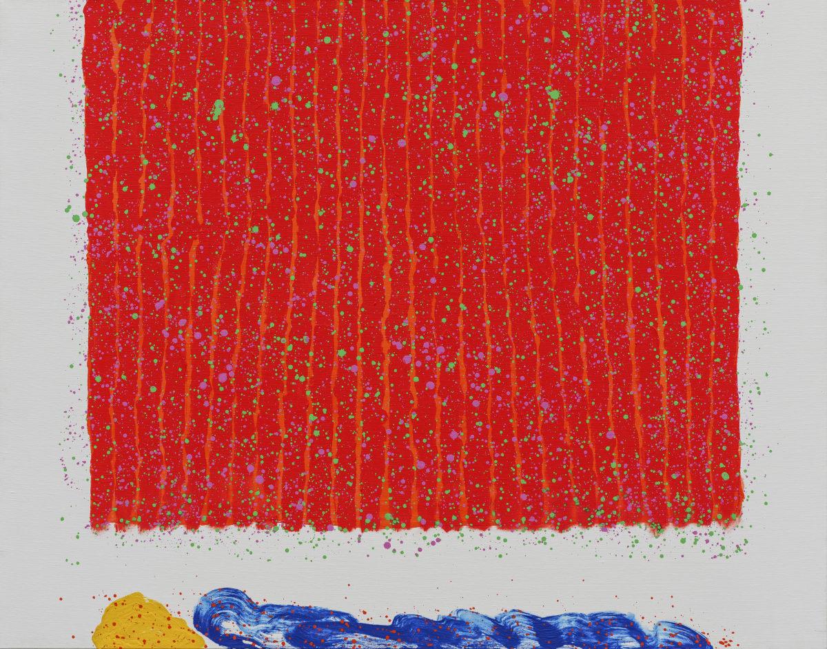 Hsiao Chin 蕭勤, Transcending Beyond the Great Threshold-9 超越大限外-9, 1999