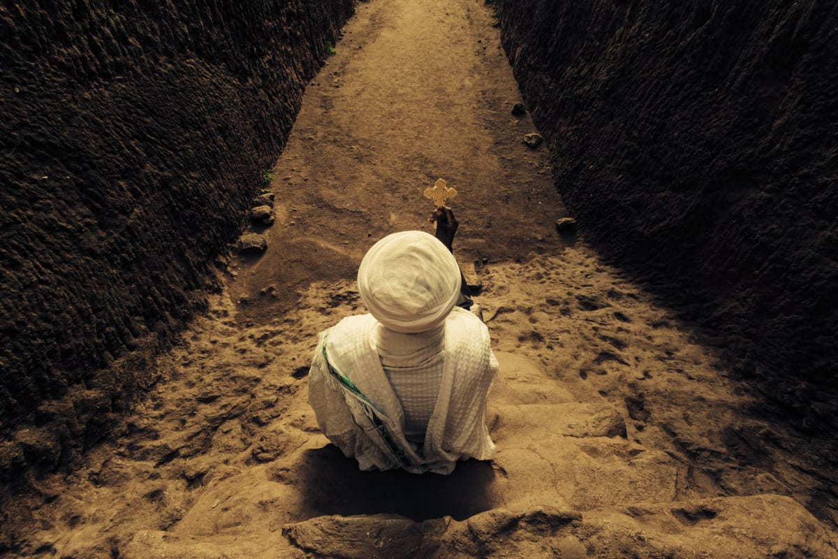 Abiy Solomon, Primordial Modernity: The Raw Spirit of Lalibela II, 2014