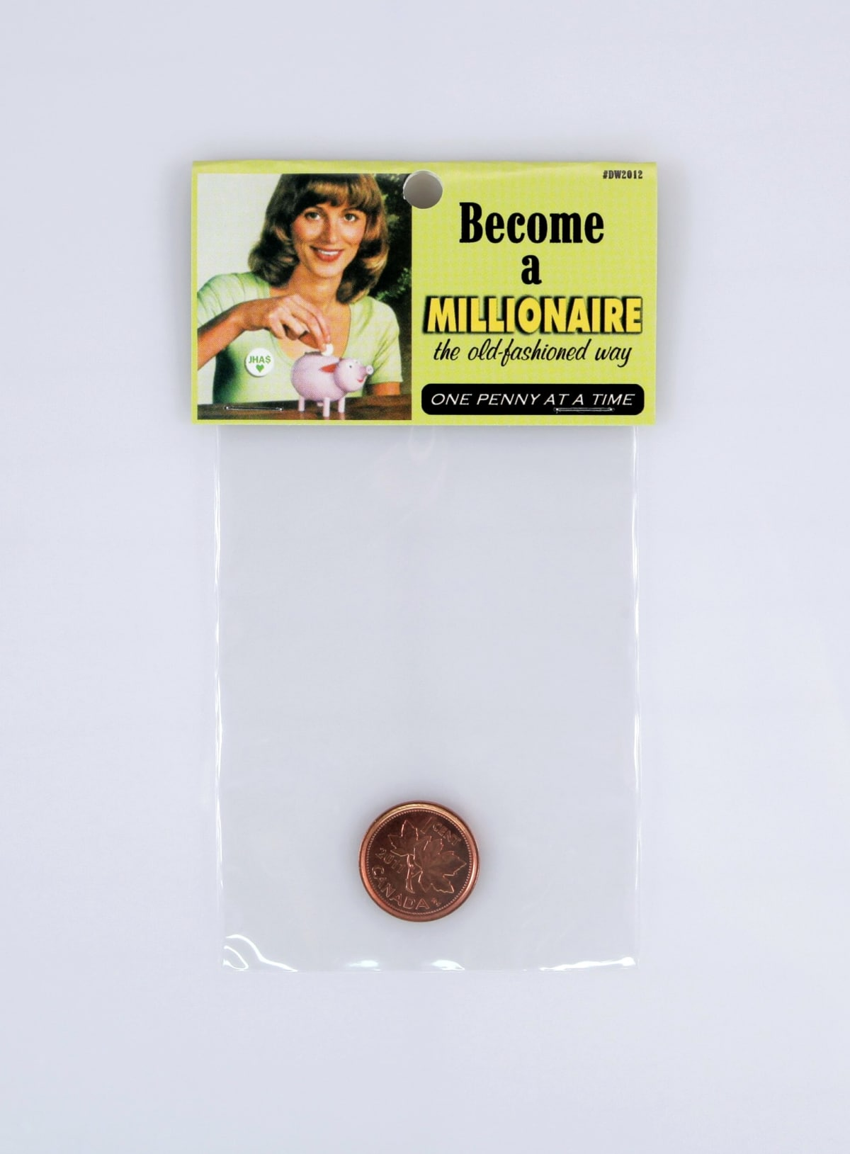Become a millionaire the old fashioned way