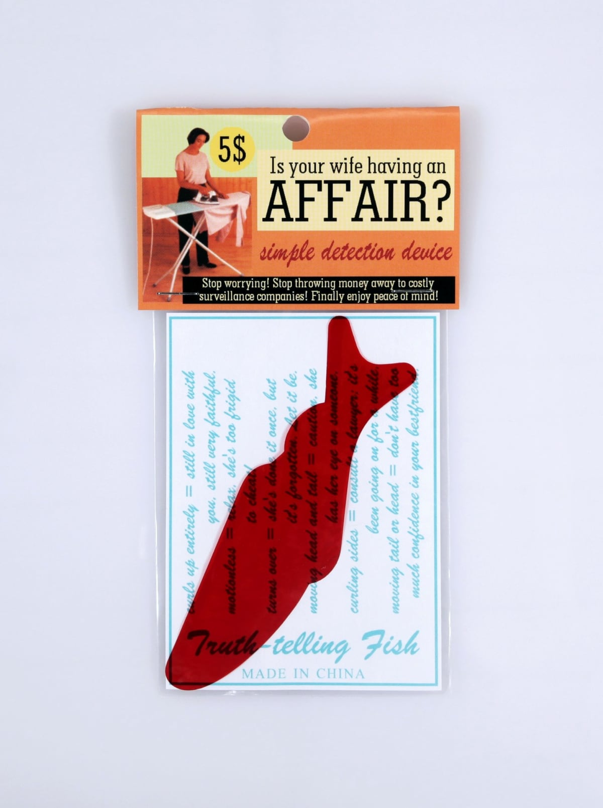 Is your wife having an affair?