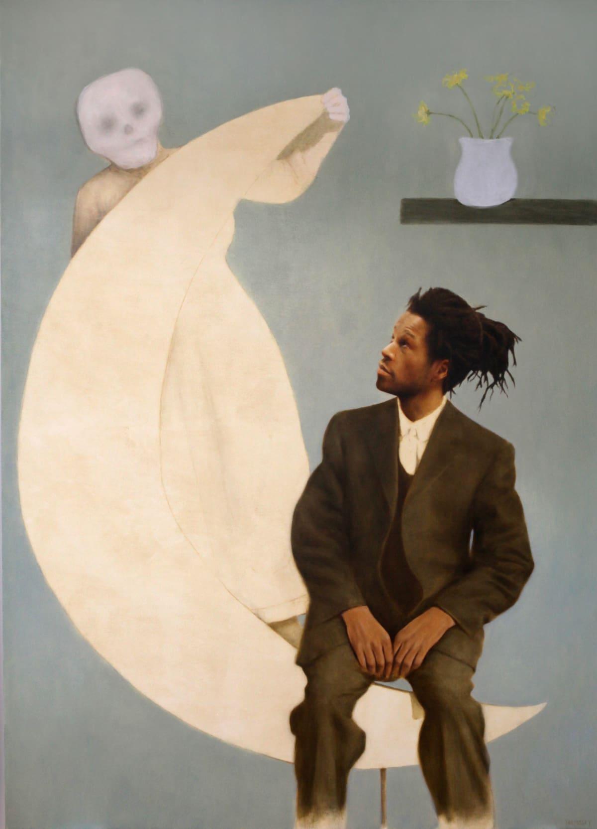 Jason Bard YARMOSKY, Paper moon, 2018