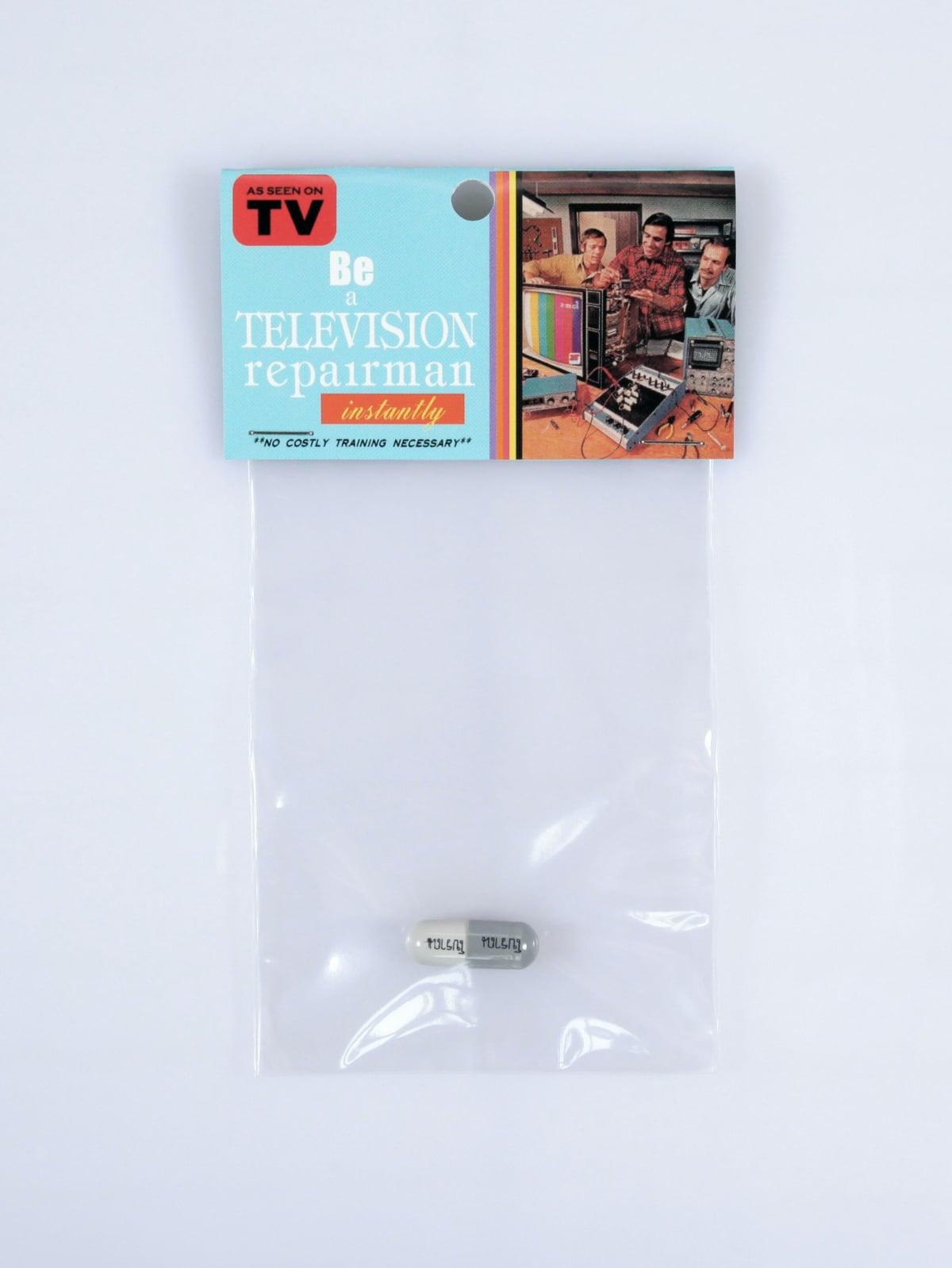 Be a television repairman, 2003