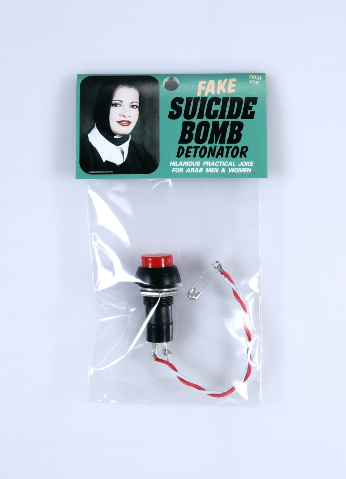 Jesus Had A Sister Productions, Fake suicide bomb detonator, 2011