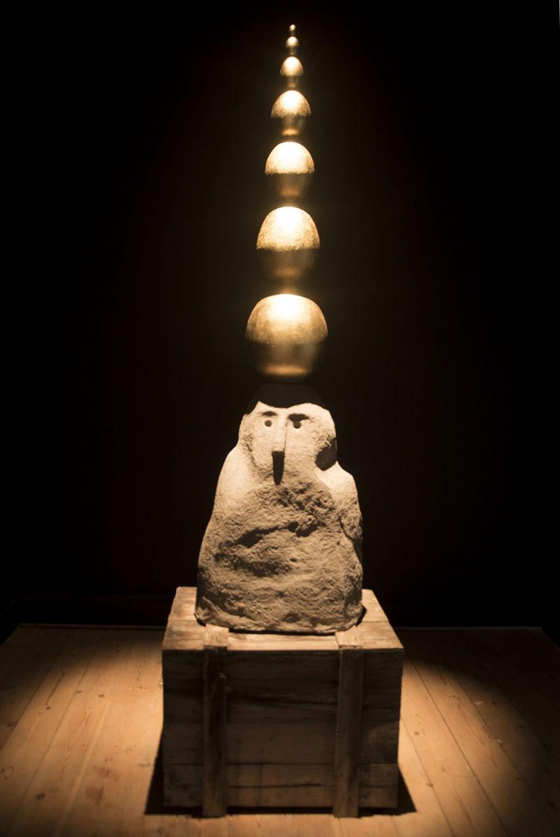 John ISAACS, The unseen structure, 2016