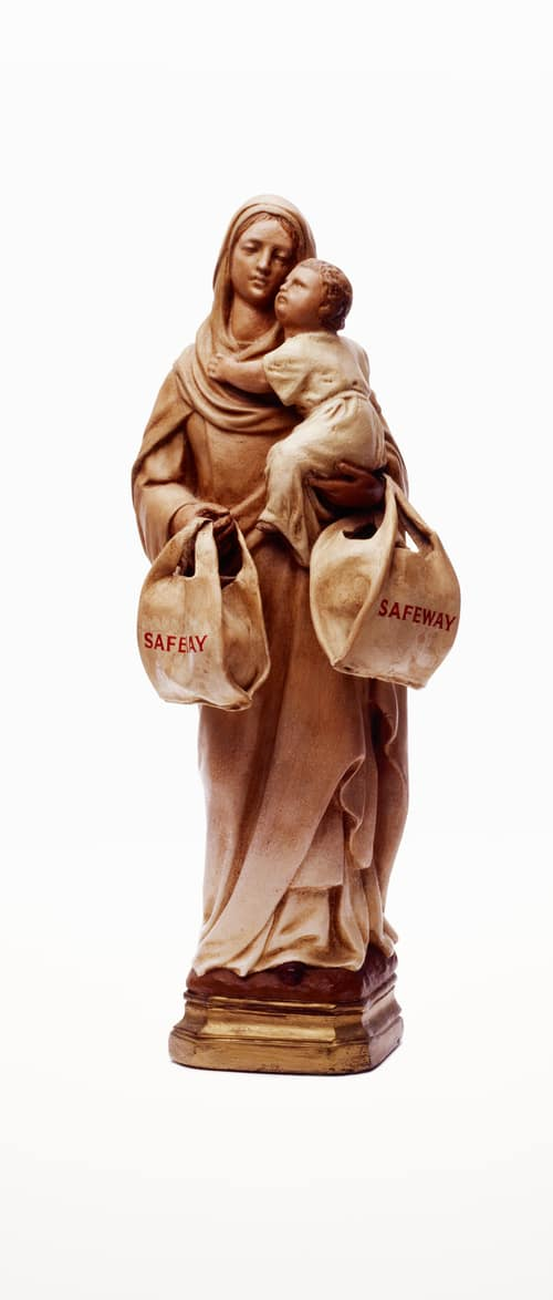 Nancy FOUTS, Madonna with Safeway Bags, 2011