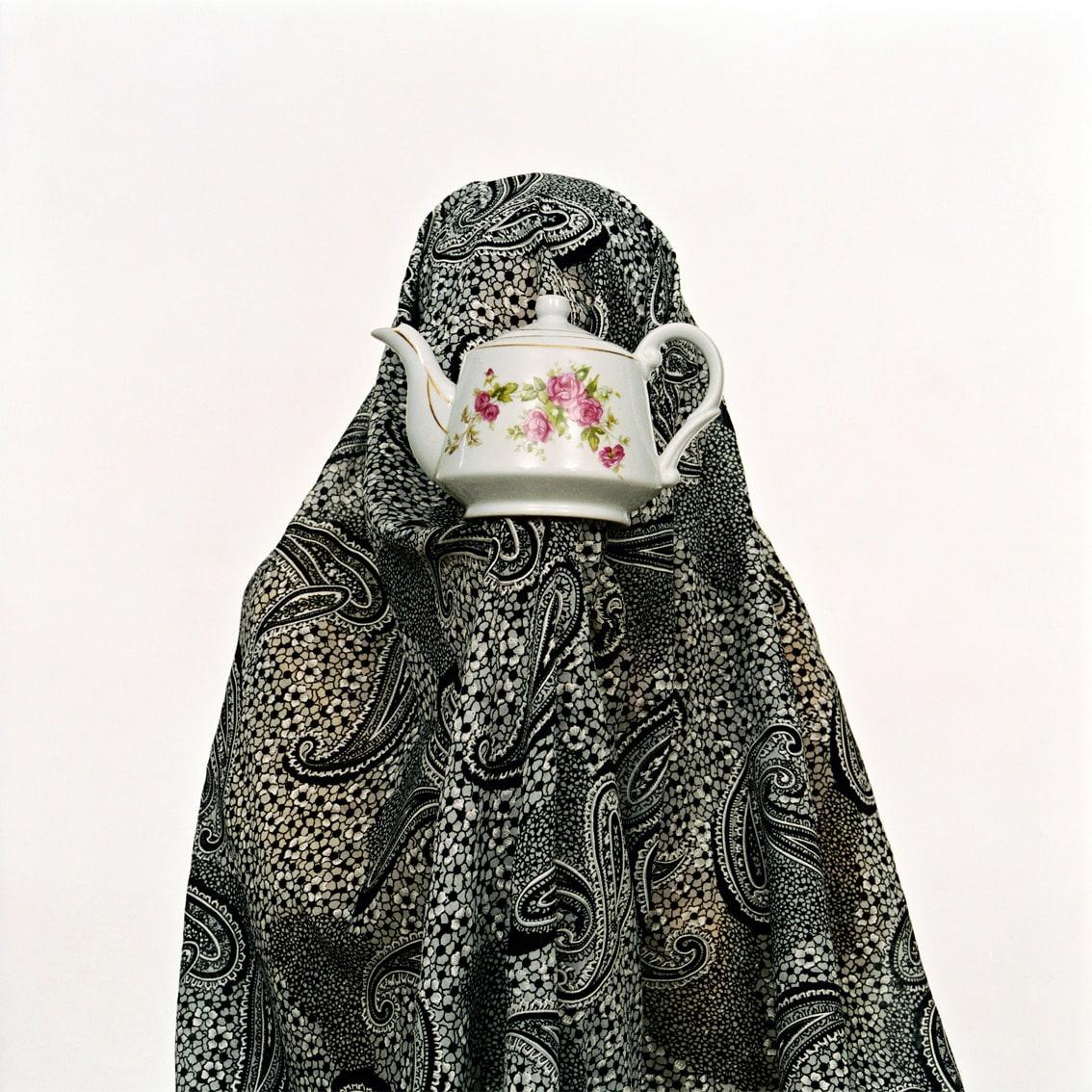 Shadi GHADIRIAN, Like everyday (domestic Life) #08 (tea-pot), 2000
