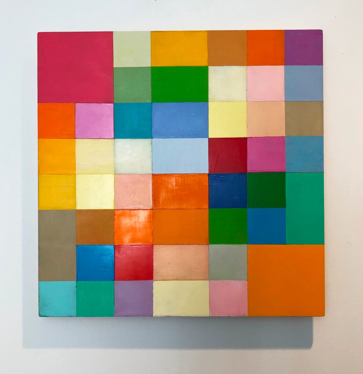 Georges MEURANT, Untitled #7, 2011-2017