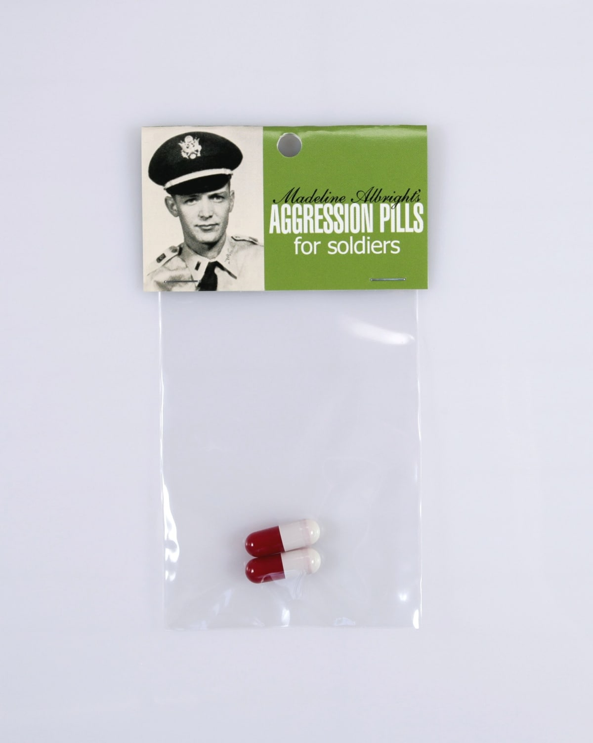Aggression pills for soldiers