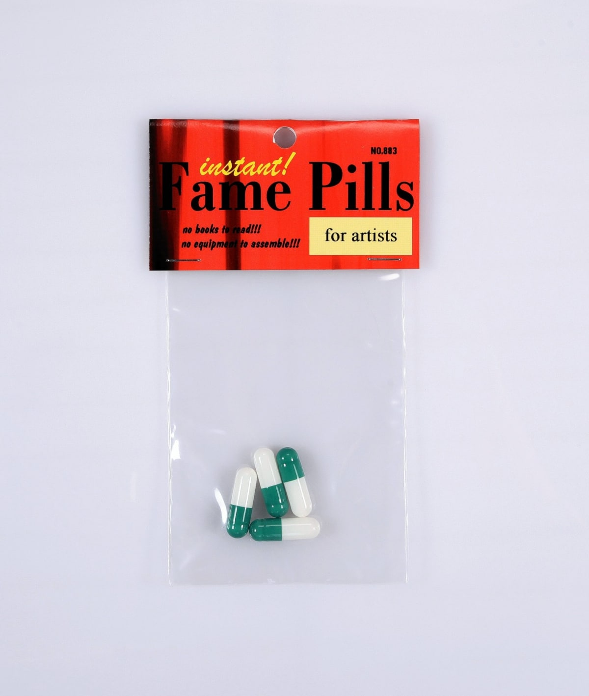 Instant fame pills for artists