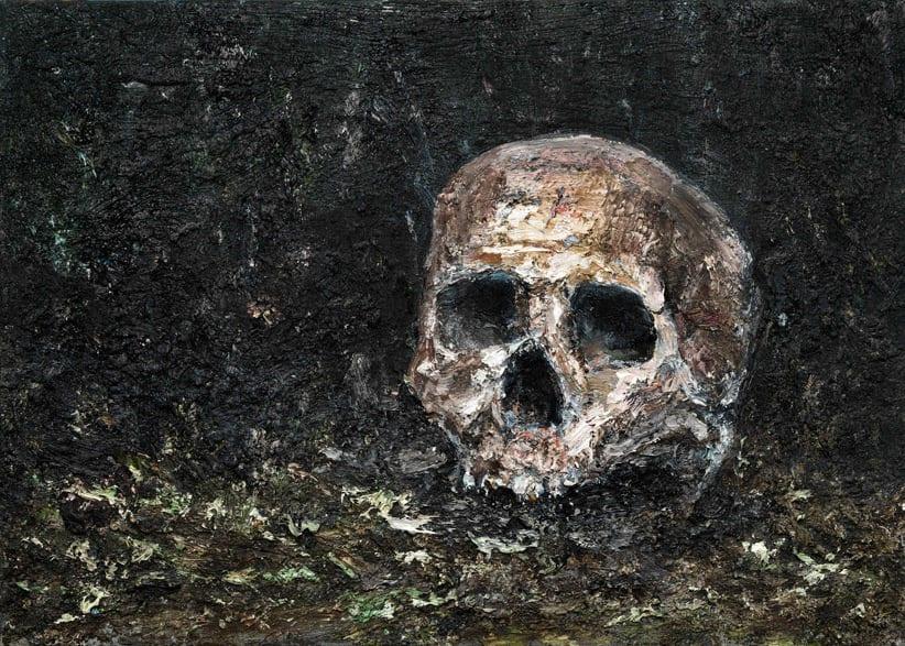 Ronald OPHUIS, Skull, 2015