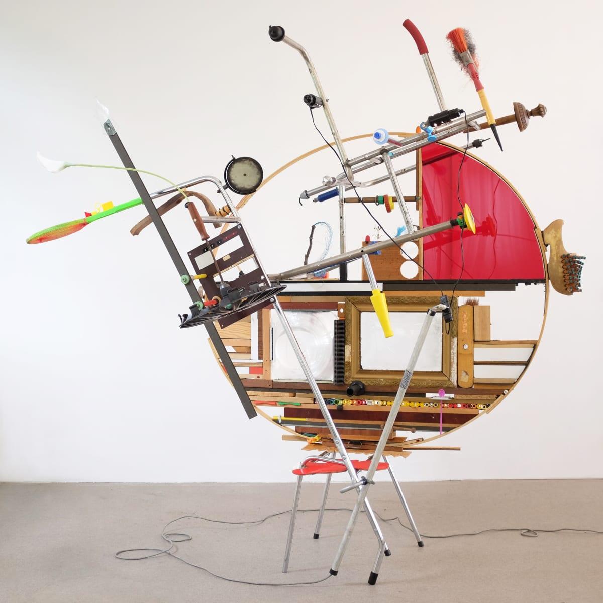 Jeroen FRATEUR, Chairwork - Alg. Schakelaar, 2016-2018