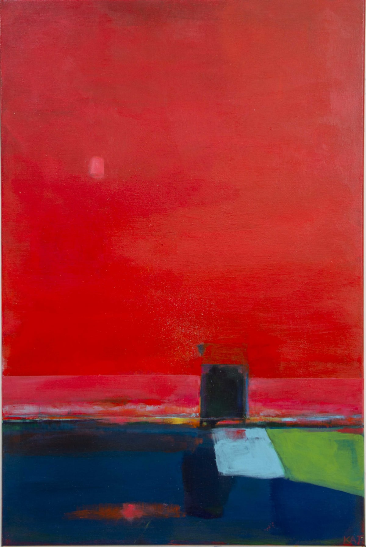 Kate Trafeli, Red + Door (Untitled), 2019