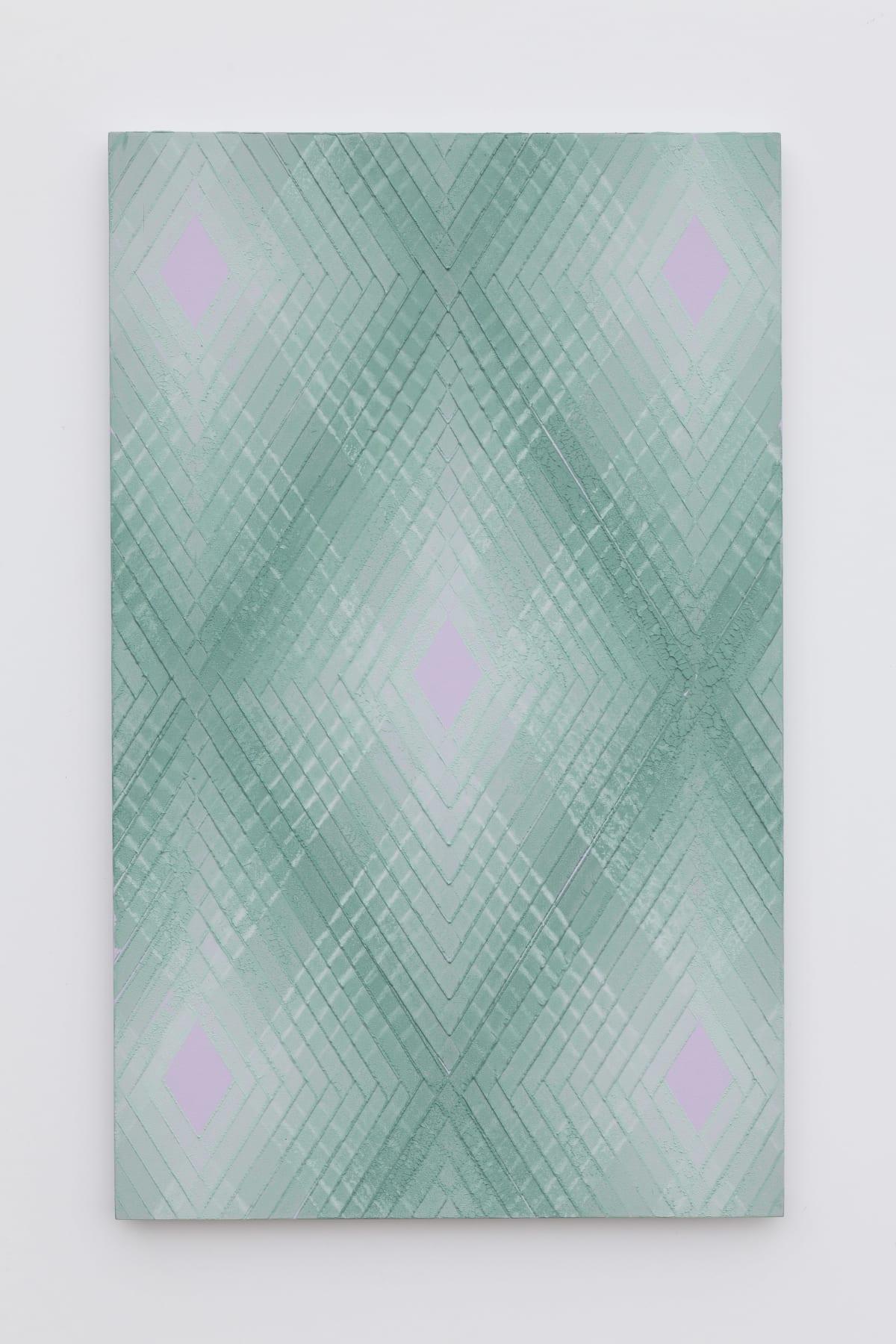 Will Cruickshank, Green on violet 2, 2019