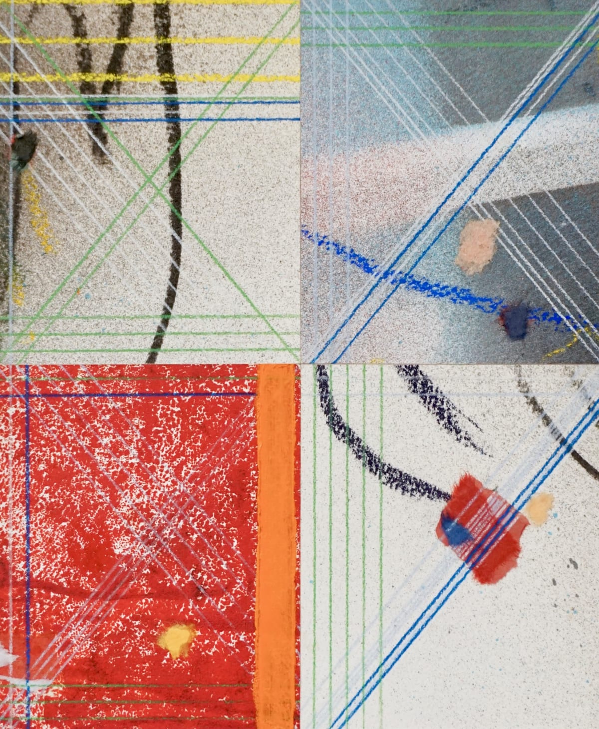 Chris Gough, Orange (4 Part - S), 2011
