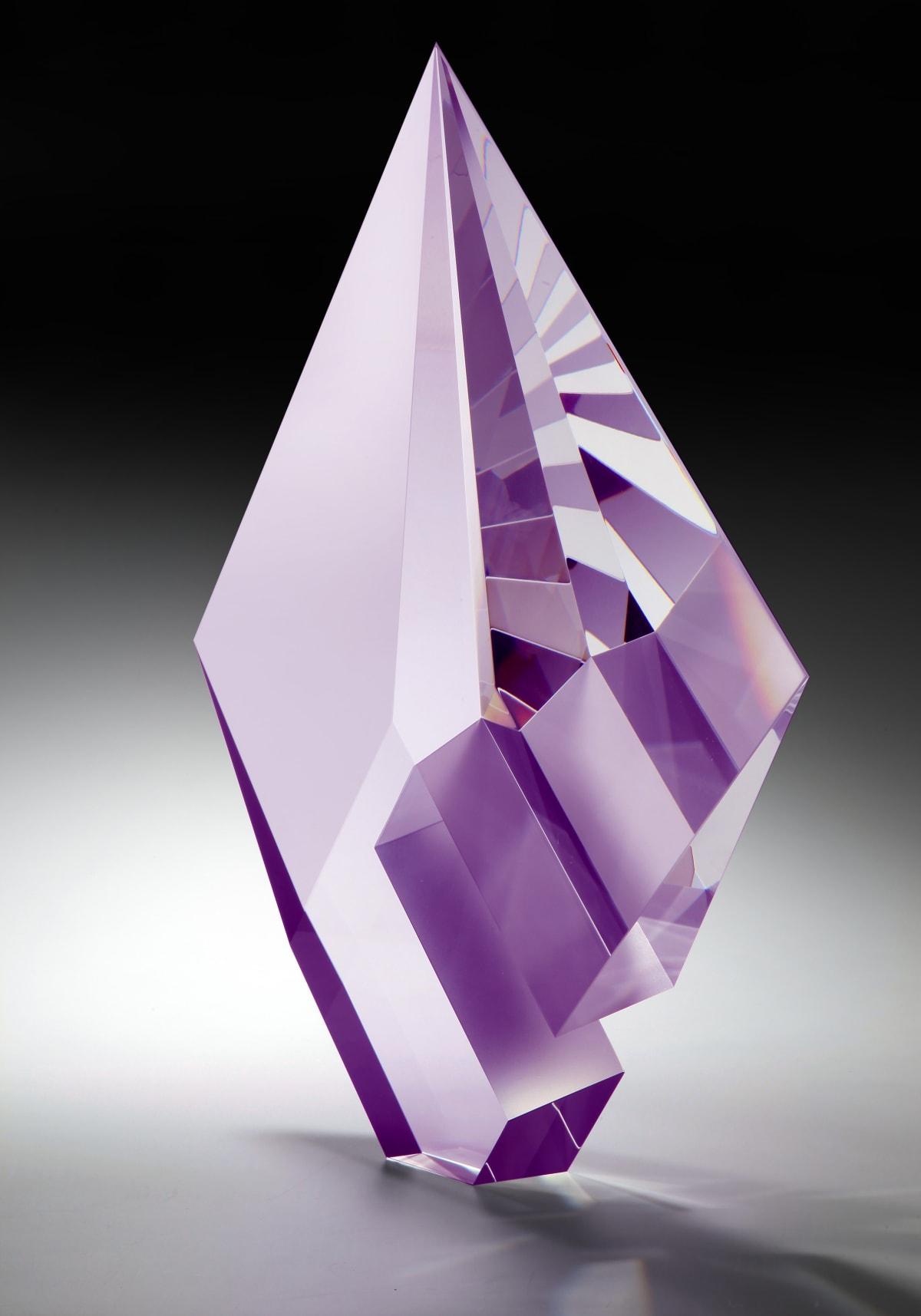 Tomas Brzon, Purple Composition - Large, 2020