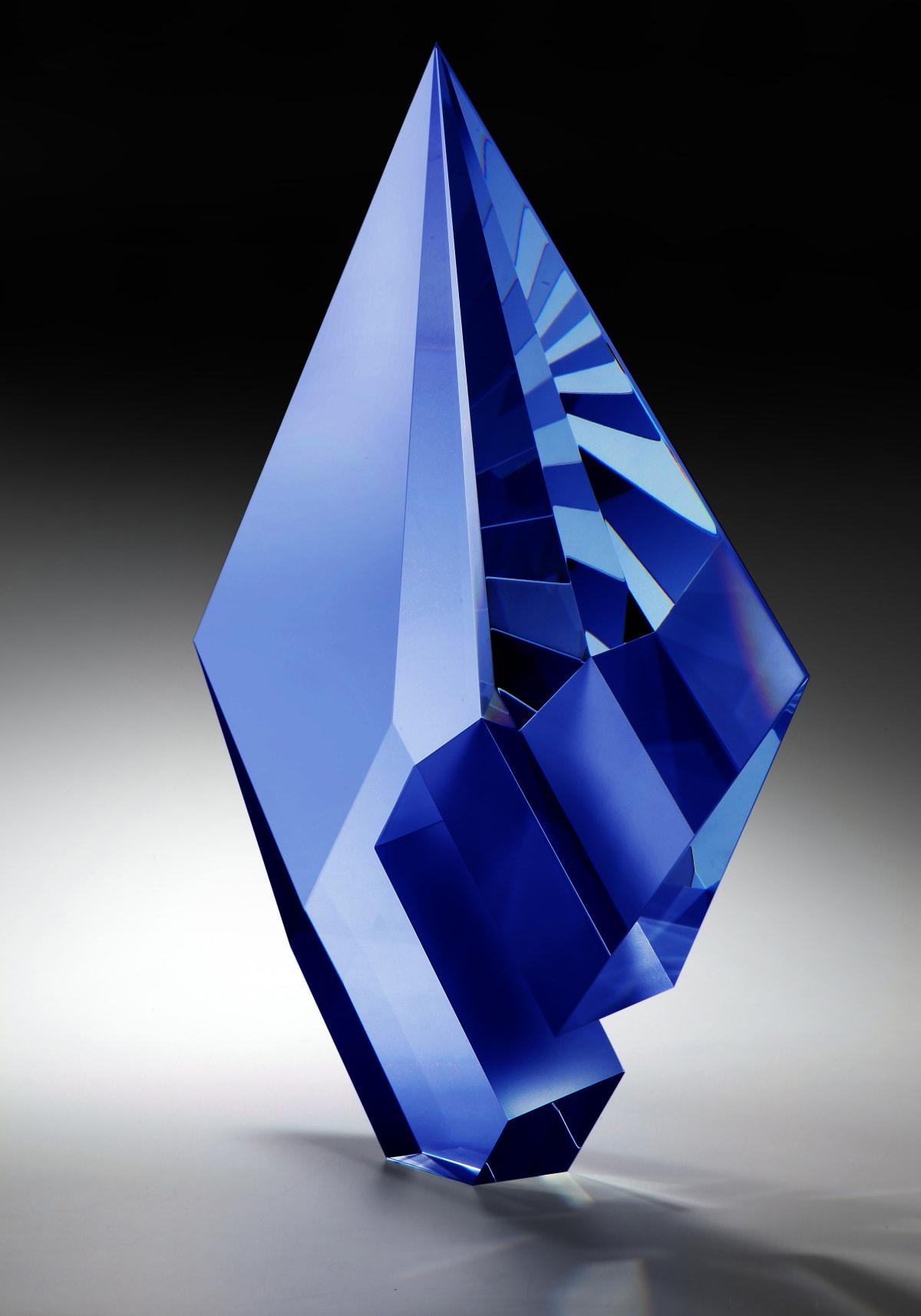 Tomas Brzon, Blue Composition , 2020