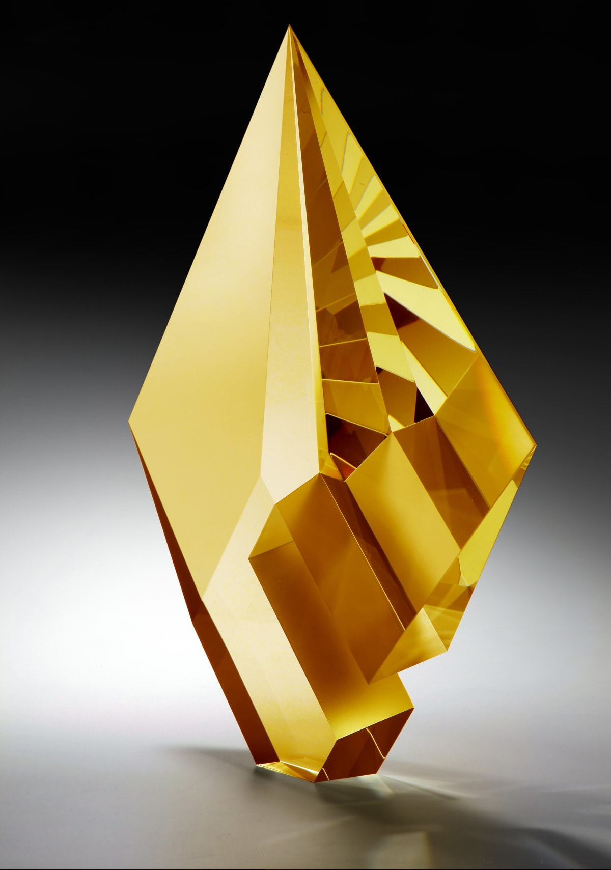 Tomas Brzon, Gold Amber Composition , 2020