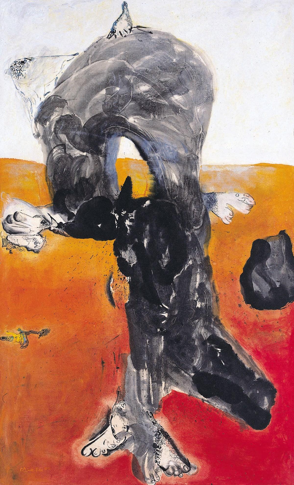 Alixe Fu, Plante-homme I, 2000