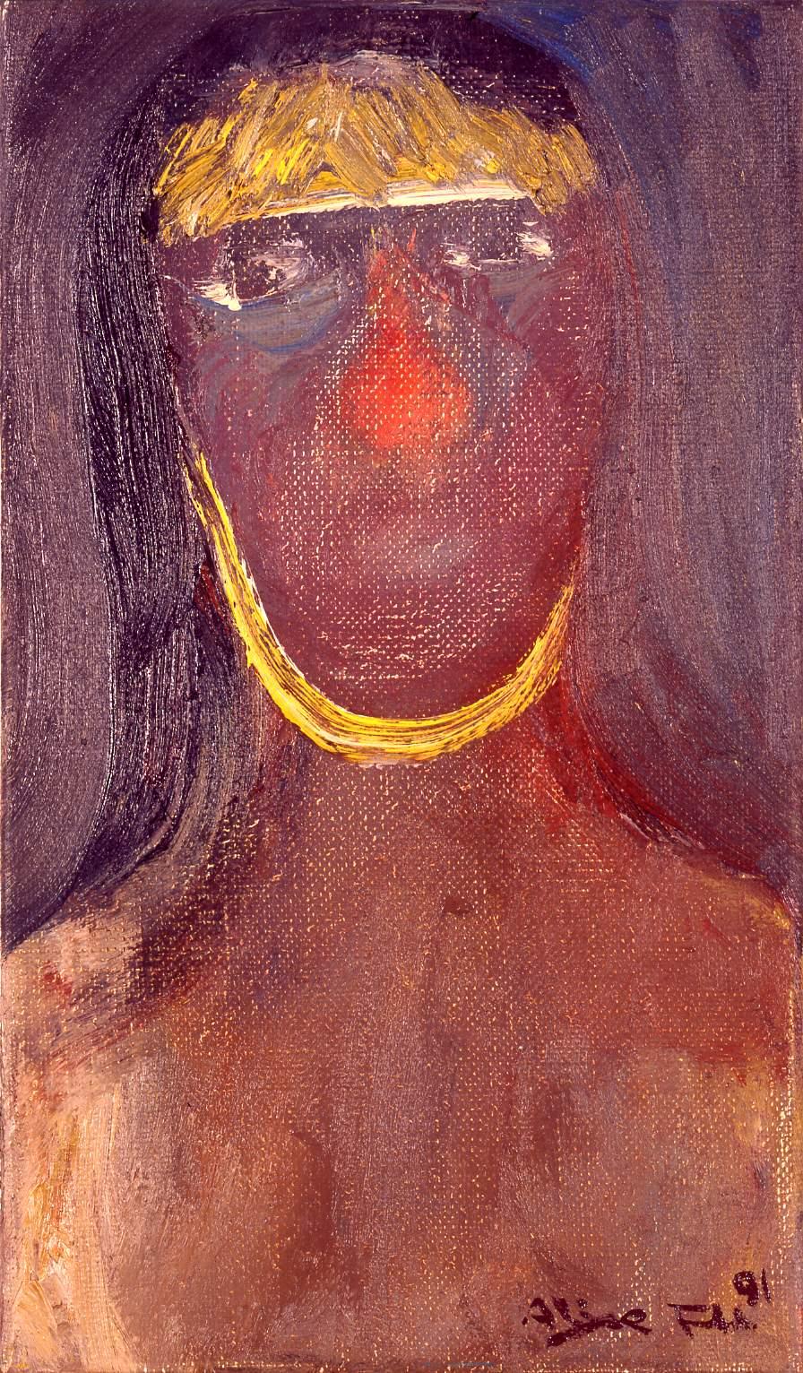 Alixe Fu, 印第安女人 Indian Woman, 1991