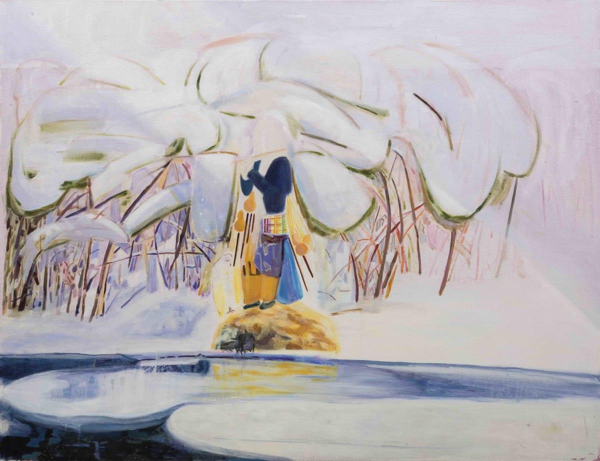 Hua Xiyu, The Piper 吹笛人, 2018
