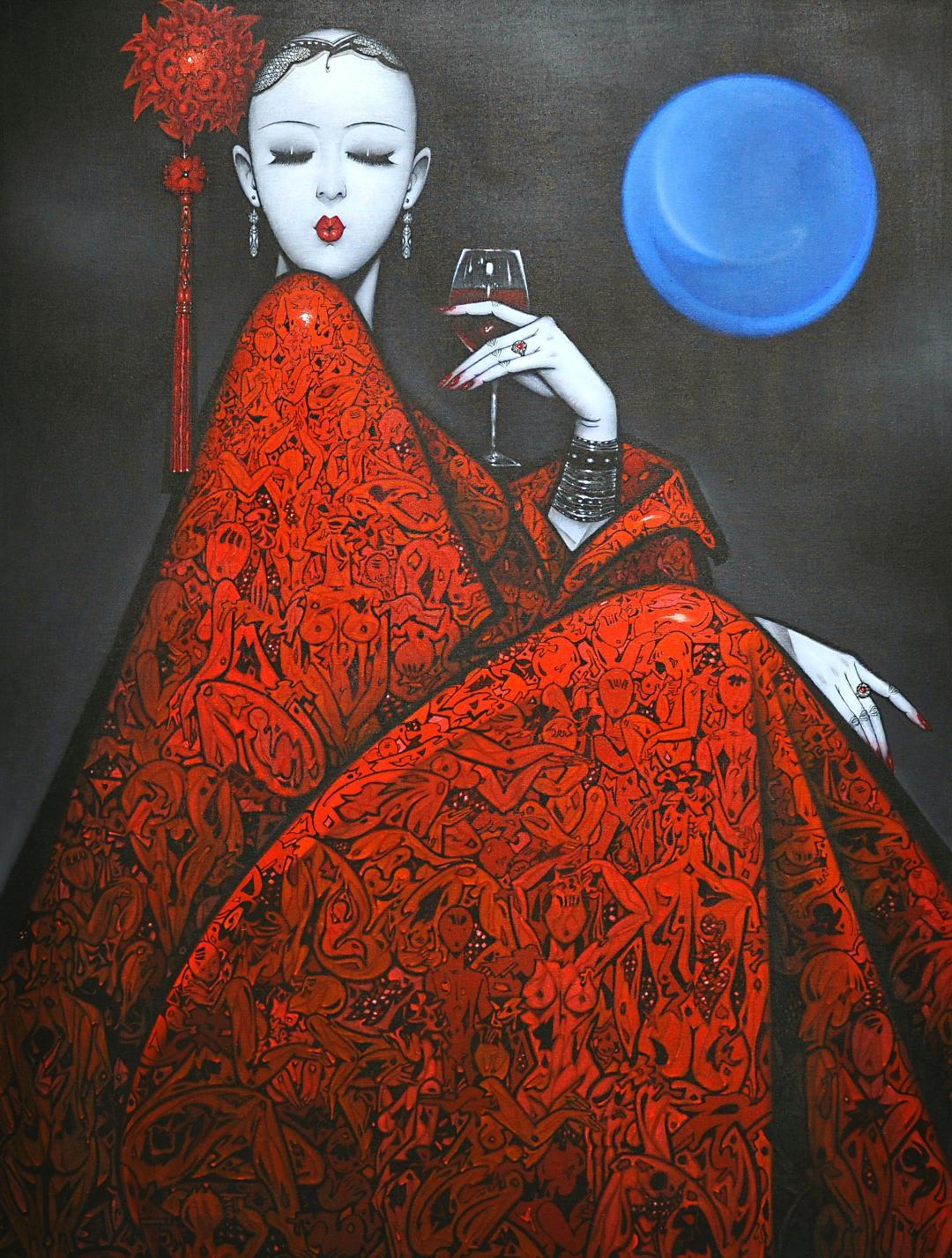 Qiu Shengxian, Mood 170618