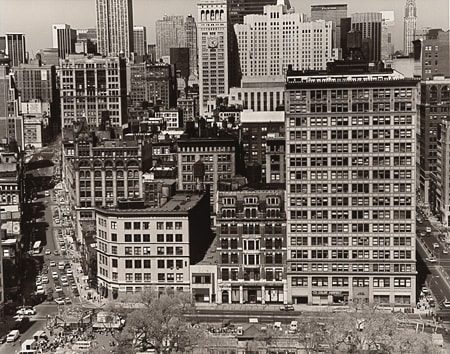Builder Levy, North of Union Square, New York City, 1981
