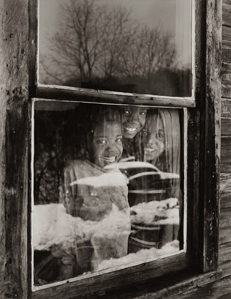 Builder Levy, Osage Window, Osage Scotts Run, West Virginia, 1970