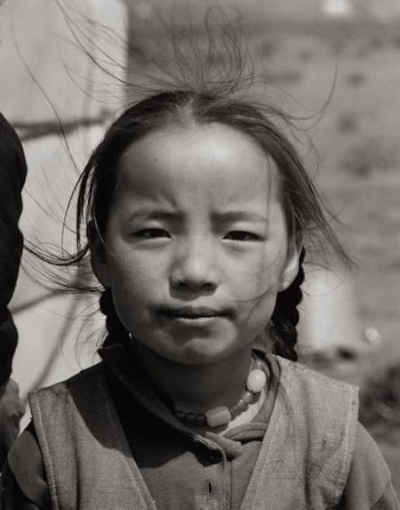 Builder Levy, Girl with Necklace, Central Mongolia, 1997