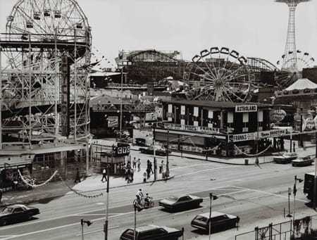 Builder Levy, Cyclone, Astroland, Parachute, Coney Island, 1985