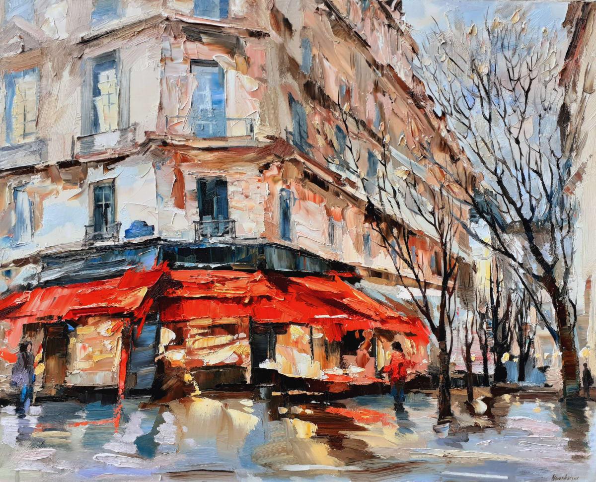 Café sur le Boulevard St Germain