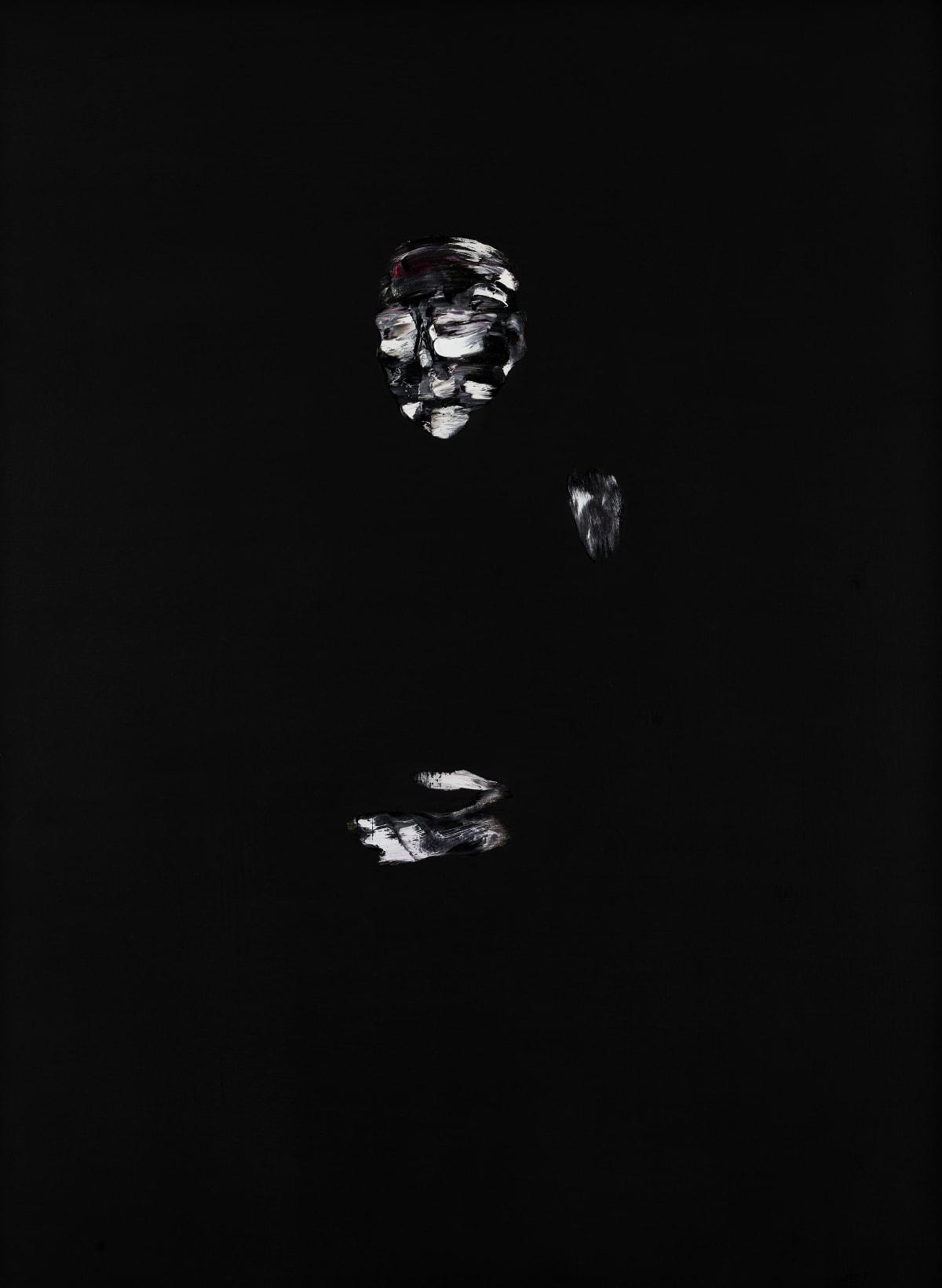 Lorenzo Puglisi Ritratto180218 (Portrait180218), 2018 Oil on board. 130 x 100 x 6 cm (51.2 x 39.4 x 2.35 in)