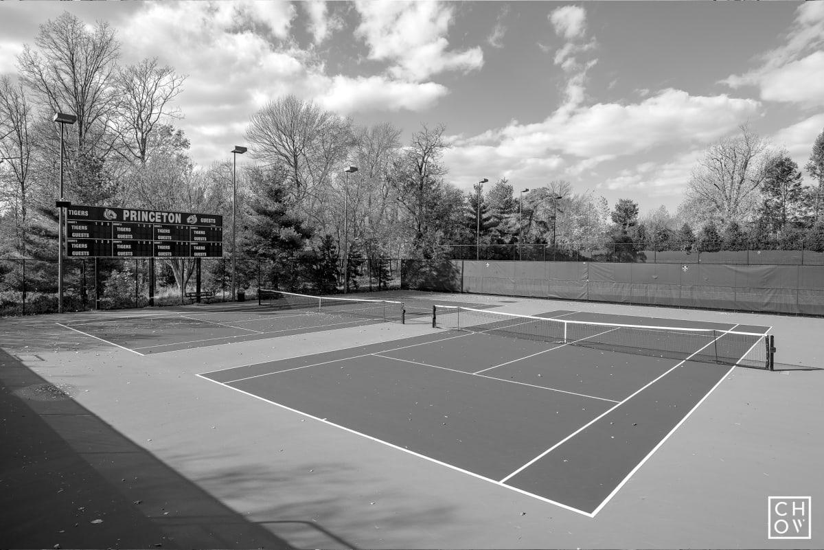 Austin Chow, Lenz Tennis Center // Princeton University, 2017
