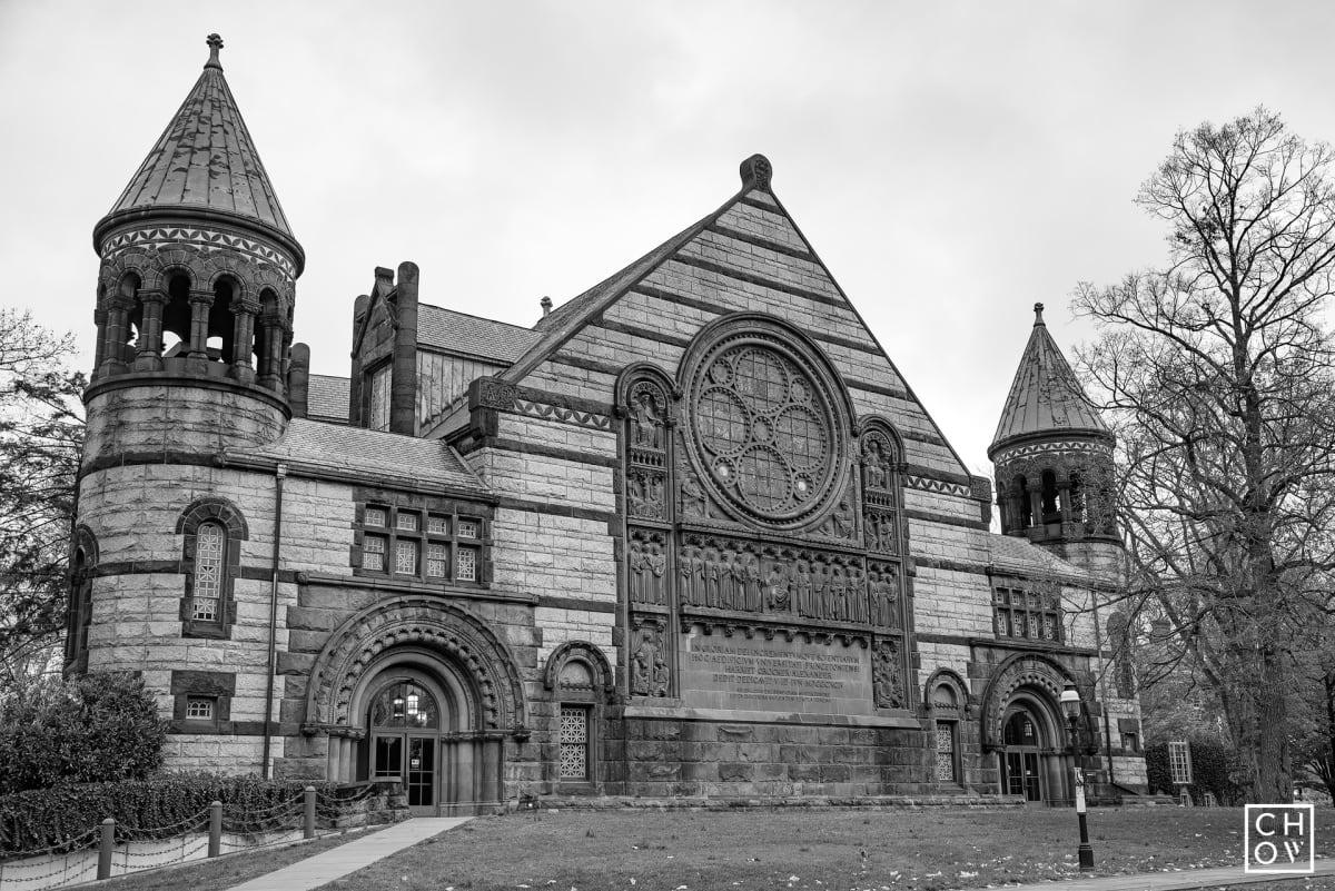 Austin Chow, Alexander Hall // Princeton University, 2017